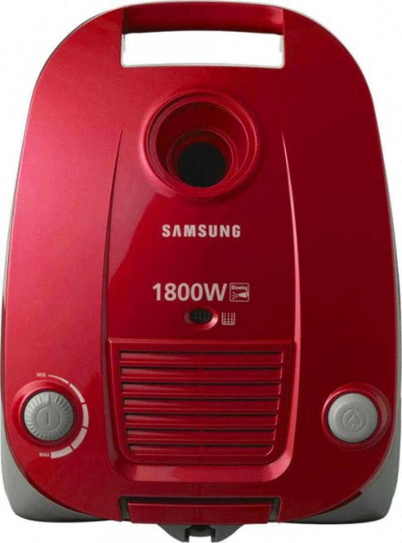 Пылесос Samsung VCC4181V37 красный пылесос samsung sc 20 f 30 wnf