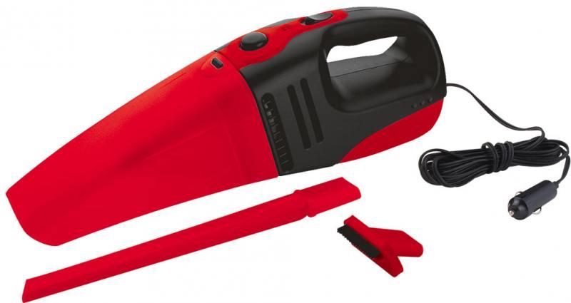 Автомобильный пылесос ZIPOWER PM 6705 сухая уборка черно-красный пылесос lg vk76a06ndr сухая уборка красный серый