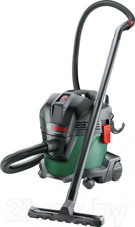 Пылесос Bosch UniversalVac15 с мешком сухая уборка 1000Вт зеленый/черный пылесос bosch advancedvac 20 зеленый черный 06033d1200