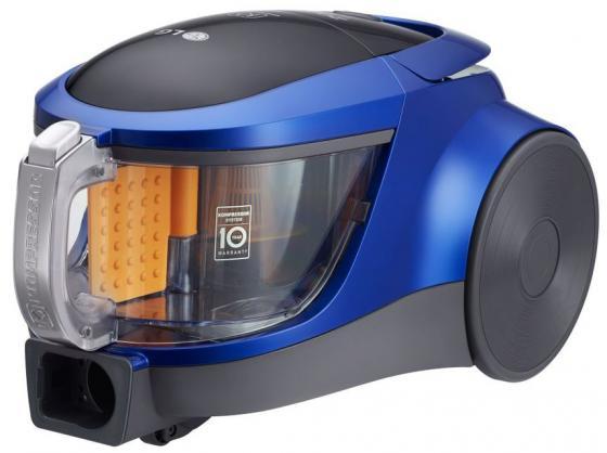 Пылесос LG VK76A09NTCB без мешка сухая уборка 2000Вт голубой металлик пылесос lg vk76a01nd