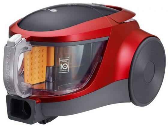 Пылесос LG VK76A09NTCR без мешка сухая уборка 2000Вт красный пылесос midea vcc35a01k без мешка сухая уборка 1500вт красный