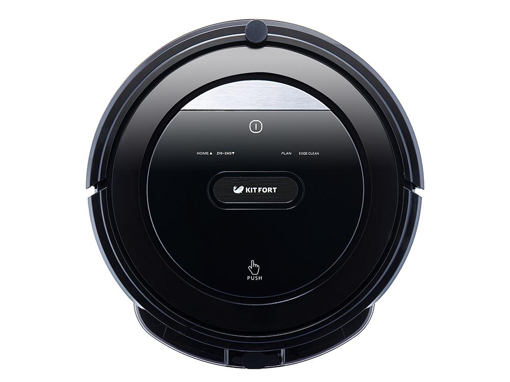 Робот-пылесос KITFORT КТ-516 25Вт черный пылесос робот kitfort кт 516