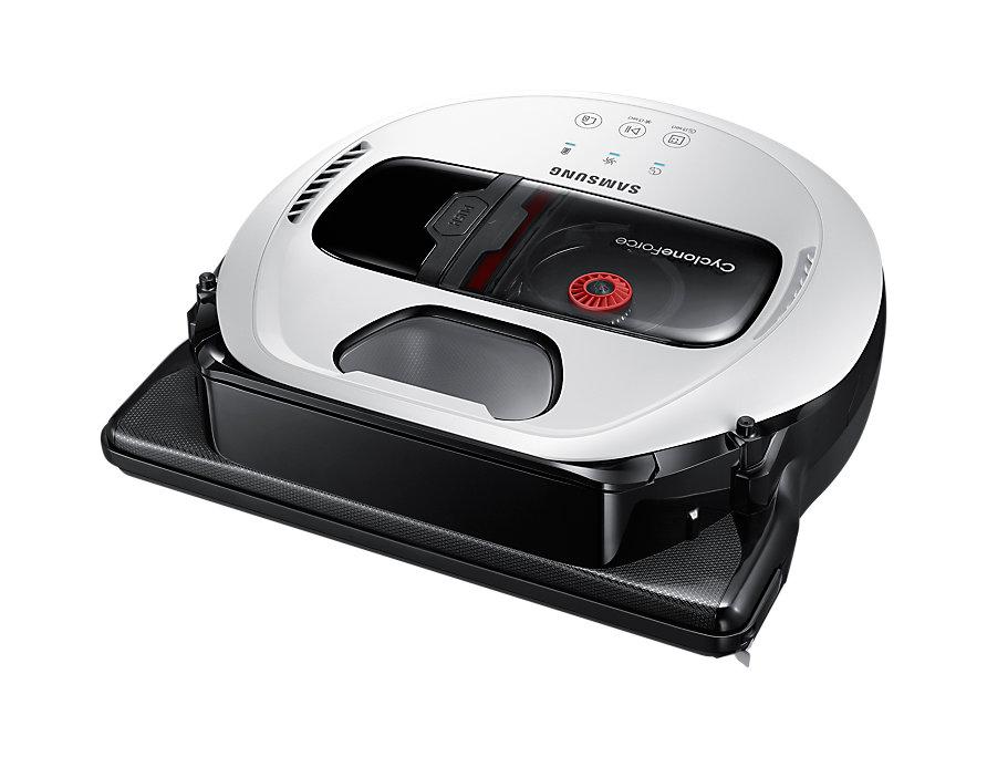 цена на Пылесос-робот Samsung VR10M7010UW 80Вт белый/черный