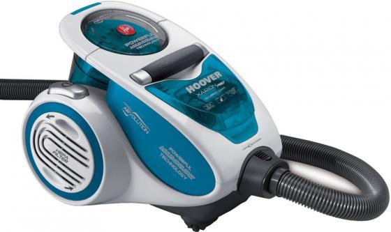 Пылесос Hoover TXP1520 019 без мешка сухая уборка 1500Вт голубой пылесос midea vcc35a01k без мешка сухая уборка 1500вт красный