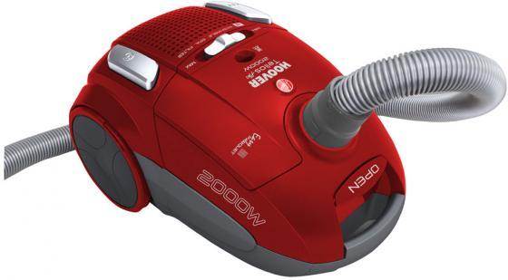 Пылесос Hoover TTE2005 019 c мешком сухая уборка 2000Вт красный пылесос hoover telios plus сухая уборка красный tte2005 019