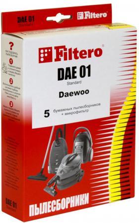 Пылесборник Filtero DAE 01 Standard двухслойные 5 шт + 1 фильтр
