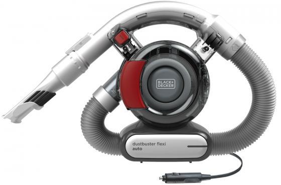 Автомобильный пылесос Black & Decker PD1200AV-XK сухая уборка серый красный пылесос lg vk76a06ndr сухая уборка красный серый