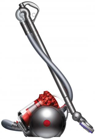 Пылесос Dyson Cinetic Big Ball Parquet сухая уборка серебристый красный пылесос dyson v6 plus
