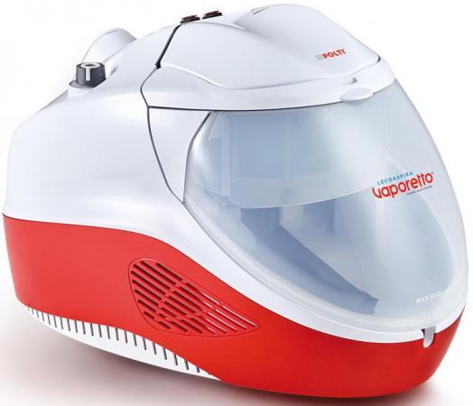 Пылесос Polti Vaporetto Lecoaspira FAV50 сухая влажная паровая уборка белый красный polti vaporetto sv300