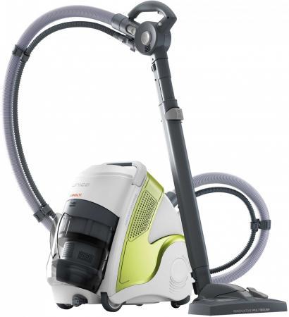 Пылесос Polti Unico MCV70 сухая влажная паровая уборка белый зелёный