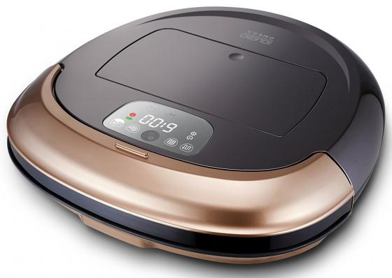 Робот-пылесос iClebo Omega сухая влажная уборка золотистый чёрный