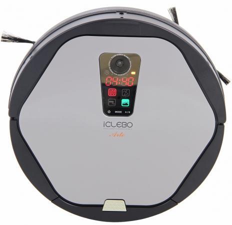 Робот-пылесос iClebo Arte сухая уборка серебристый пылесос iclebo arte carbon ycr m05 10