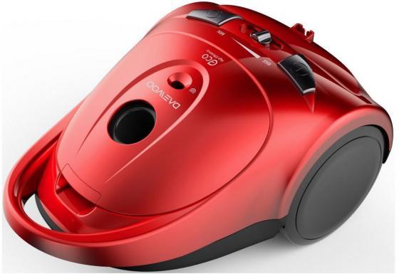 Пылесос Daewoo RGJ-110R с мешком сухая уборка 1400Вт красный