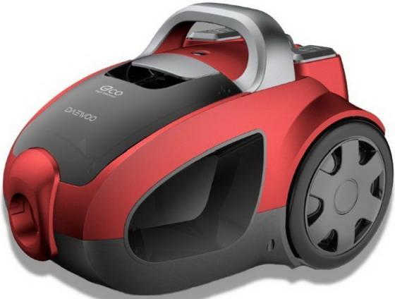 Пылесос Daewoo RCH-230R без мешка сухая уборка 2200Вт красный пылесос lg v k76w02hy без мешка сухая уборка 2000вт серебристо серый