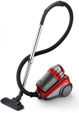 Пылесос Daewoo RCH-210R без мешка сухая уборка 2200Вт красный пылесос lg v k76w02hy без мешка сухая уборка 2000вт серебристо серый