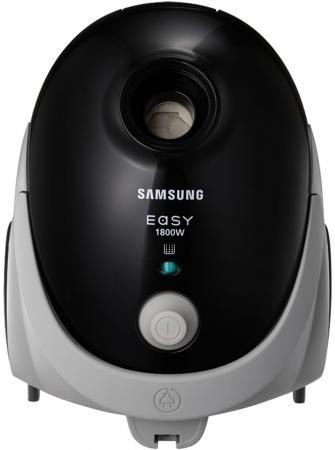 Пылесос Samsung SC5241 сухая уборка чёрный серый пылесос samsung sc5251