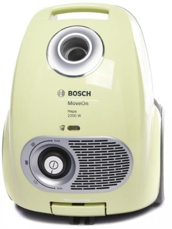 Пылесос Bosch BGL35MOV40 с мешком сухая уборка 2200Вт черный золотистый пылесосы bosch пылесос bgl35mov15 2200вт красный