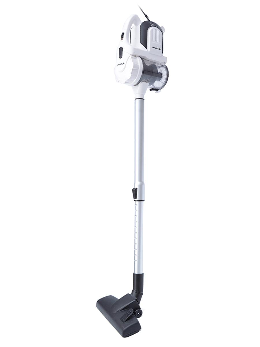 Пылесос вертикальный KITFORT KT-524-3, 600 Вт, 2в1, Белый/черный [KT-528] кофеварка kitfort kt 702 1100 вт черный