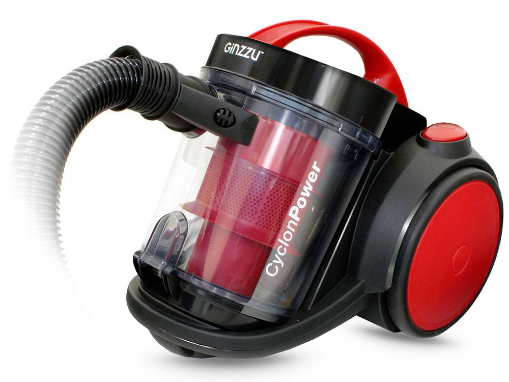 Пылесос Ginzzu VS435, 2100/420Вт, красный ginzzu s5050