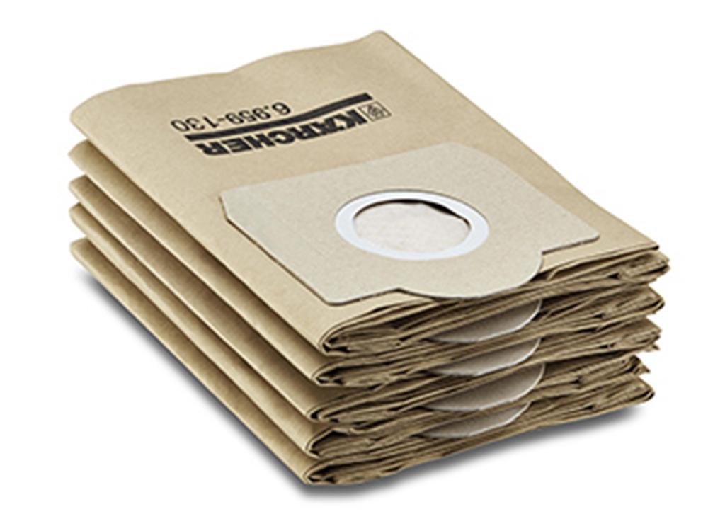Аксессуар для пылесосов Karcher SE, MV, фильтрмешки бумажн 5шт специальный пылезадерживающий мешок для пылесосов billy goat серии mv арт 840263