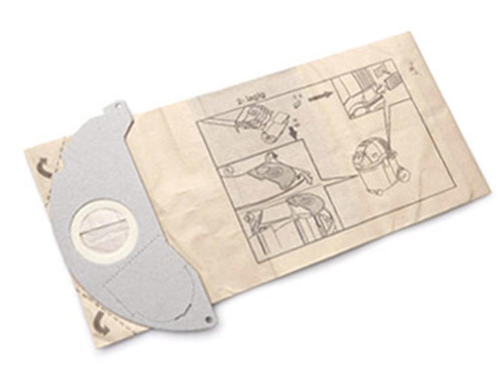 Аксессуар для пылесосов Karcher SE, фильтрмешки 5шт + микрофильтр 1шт моющий пылесос karcher se 5 100 1 081 200 0