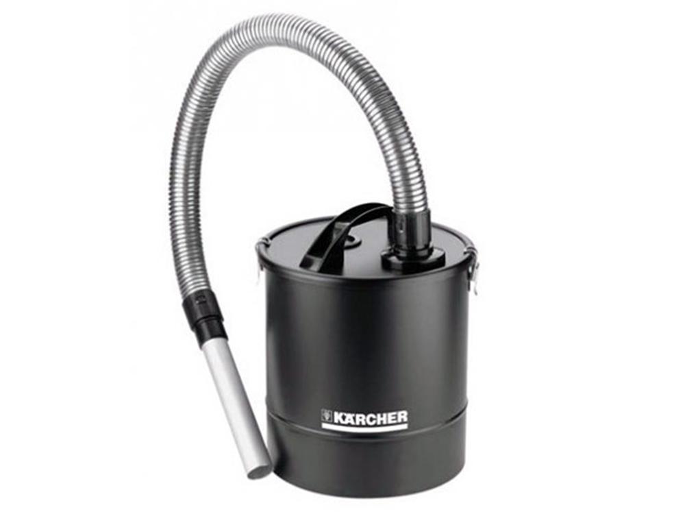 Картинка для Аксессуар для пылесосов Karcher WD, зольный фильтр Basic, 20л, шланг 1м, трубка 23см,  для очистки каминов, грилей, банных печей
