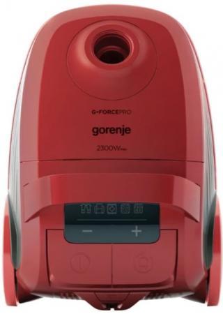 Пылесос Gorenje VC2321GPRRCY 2300Вт красный пылесос gorenje vc2303rcyiv