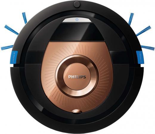 Пылесос-робот Philips SmartPro Compact FC8776/01 24Вт черный/бронзовый