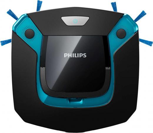Пылесос-робот Philips SmartPro Easy FC8794/01 25Вт черный/синий