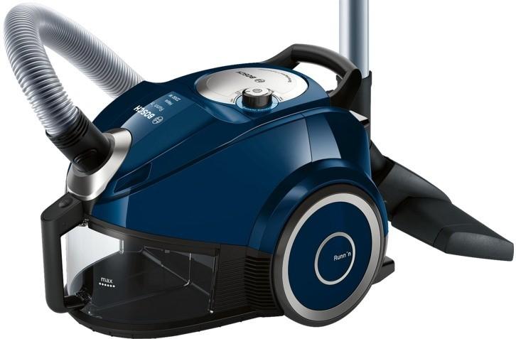 Пылесос Bosch BGC 4U2230 2200Вт, циклон.ф-р, пылесб.1,8л, синий пылесосы bosch пылесос bgl35mov15 2200вт красный