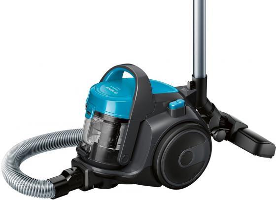 Пылесос Bosch BGS05A221 сухая уборка синий черный пылесос bosch bgn21700 с мешком сухая уборка 1700вт фиолетовый