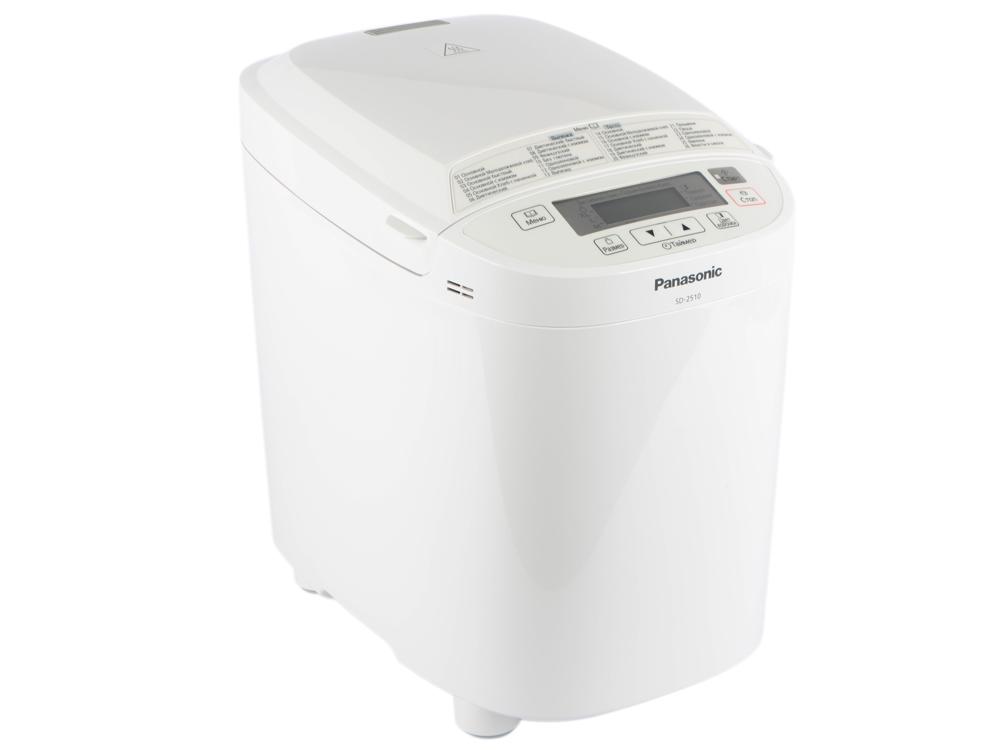 Хлебопечка Panasonic SD-2510WTS panasonic sd pm105 бытовой автоматический тостер