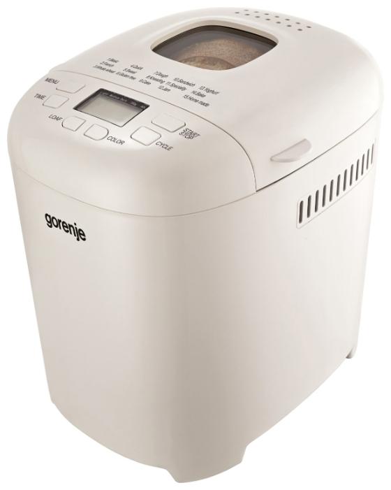 Хлебопечь Gorenje BM900WII 15 программ 550Вт. Производитель: Gorenje, артикул: 0424116