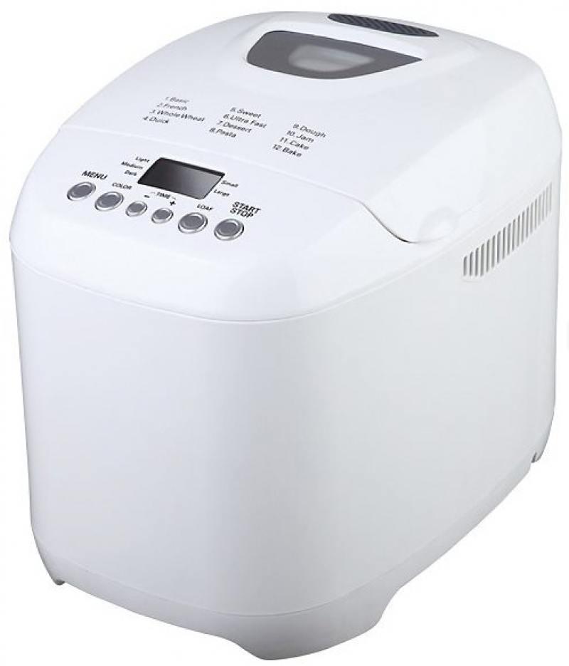 Хлебопечь Midea BM-210BC-W белый 580 Вт
