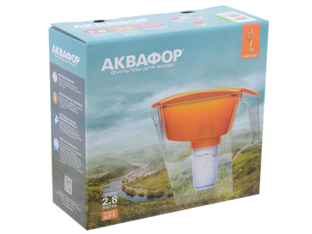 Водоочиститель Кувшин Аквафор АРТ (с В100-5) (зеленый)