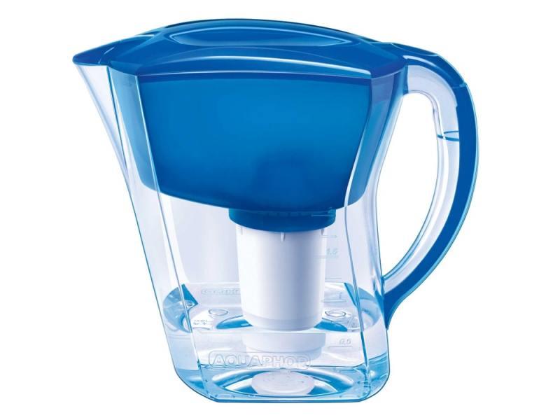 Фильтр для воды Аквафор АРТ кувшин голубой