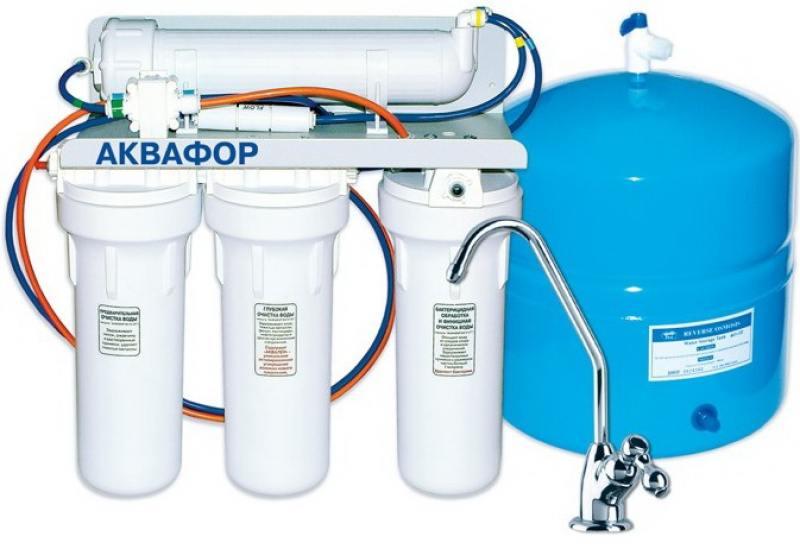 Фильтр для воды Аквафор Осмо 50-A исполнение 5