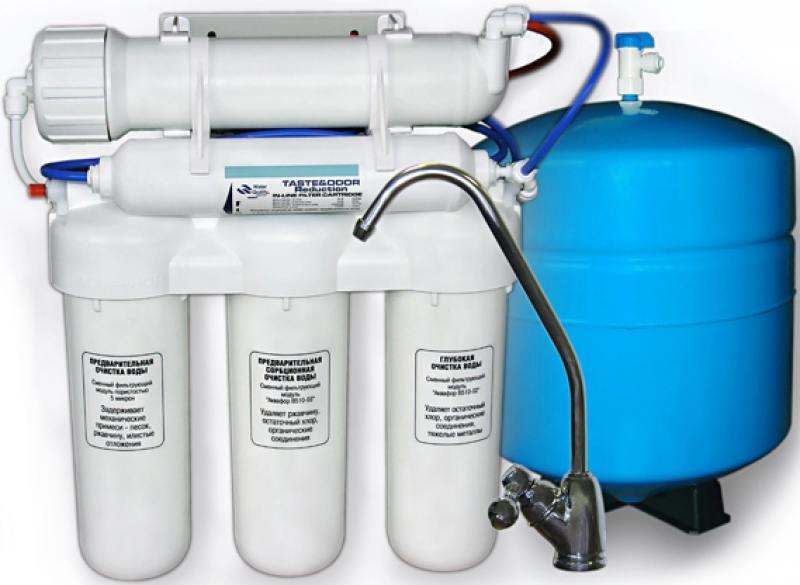 Фильтр для воды Аквафор Осмо 100-A исп. 5 10л