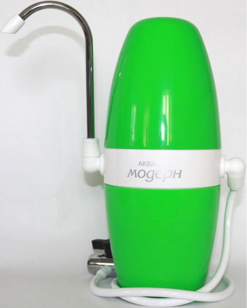 Фильтр для воды Аквафор Модерн 2 зеленый