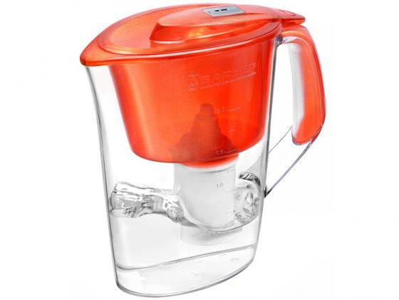 Фильтр для воды Барьер Стайл жемчужный/алый