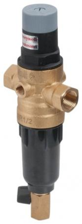 Сетчатый комбинированный фильтр atoll AFRF-1/2B черный пластик, гор. вода