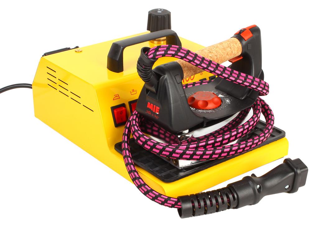 Парогенератор с утюгом MIE Stiro Pro 100 желтый парогенератор mie stiro pro inox