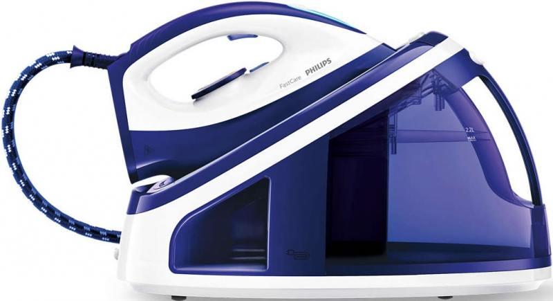 Утюг Philips GC7703/20 2400Вт синий утюг philips gc4506 20 2400вт белый