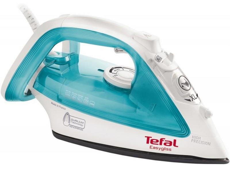 Утюг Tefal FV3910E0 2200Вт бело-голубой утюг tefal fv2548e0 2200вт фиолетовый