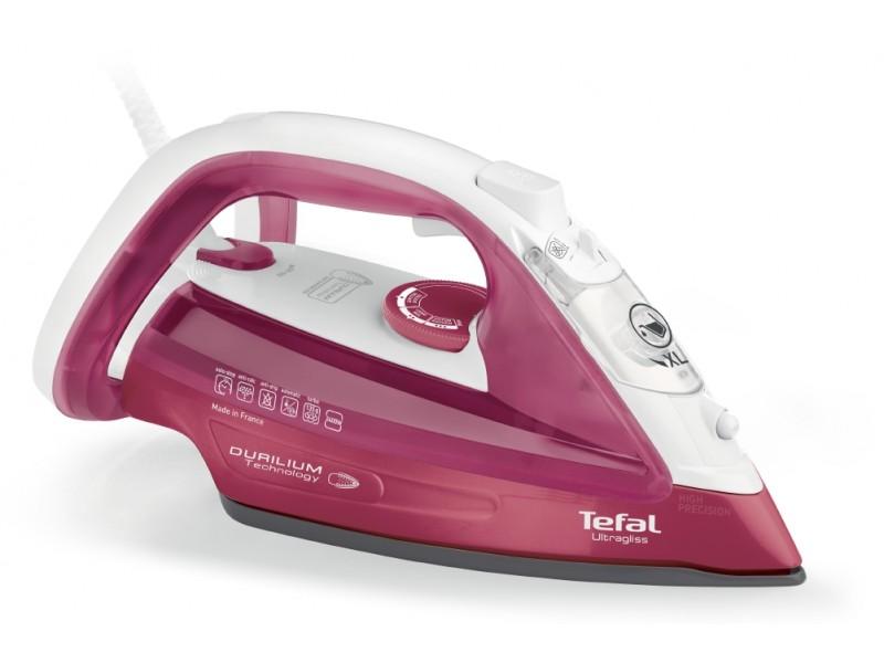 Утюг Tefal FV4920E0 2400Вт розовый/белый триммер sinbo str 4920 чёрный красный