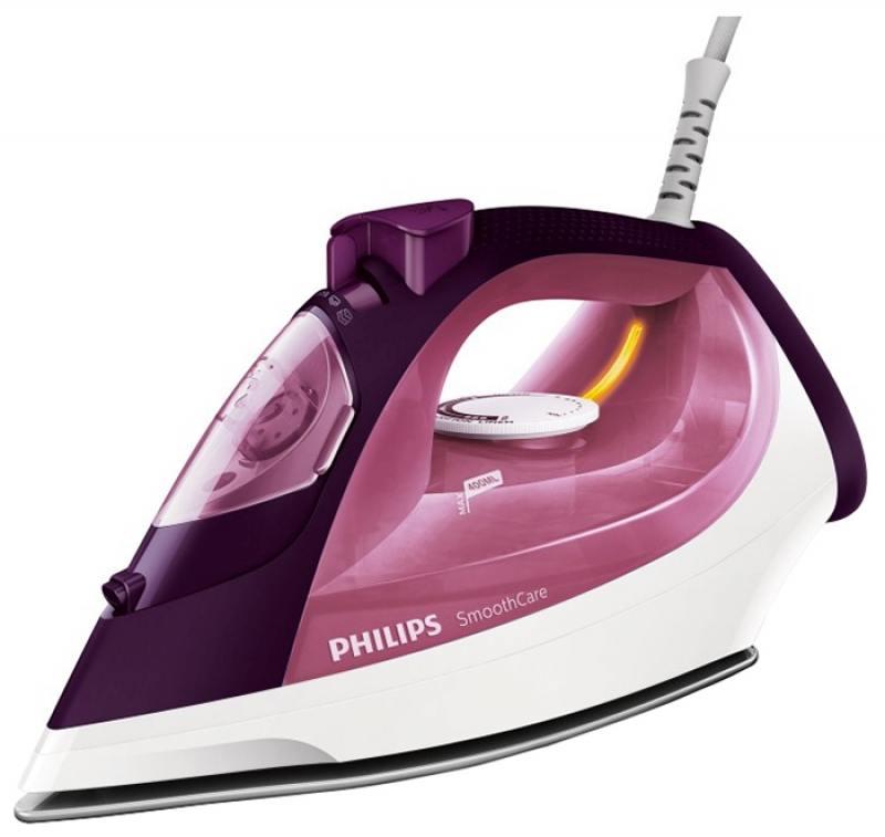Утюг Philips GC3581/30 бордовый 2400Вт philips gc 651 02