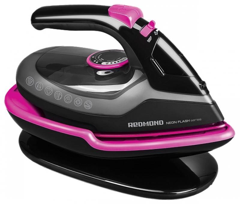 Утюг Redmond RI-C234 2400Вт розовый/черный утюг redmond ri c252 мятный