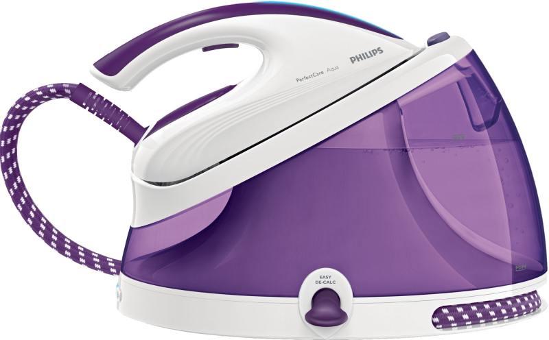 Паровая станция Philips GC 8625/30 бело-фиолетовый гладильная система philips gc 8625 30 perfectcare aqua белый фиолетовый