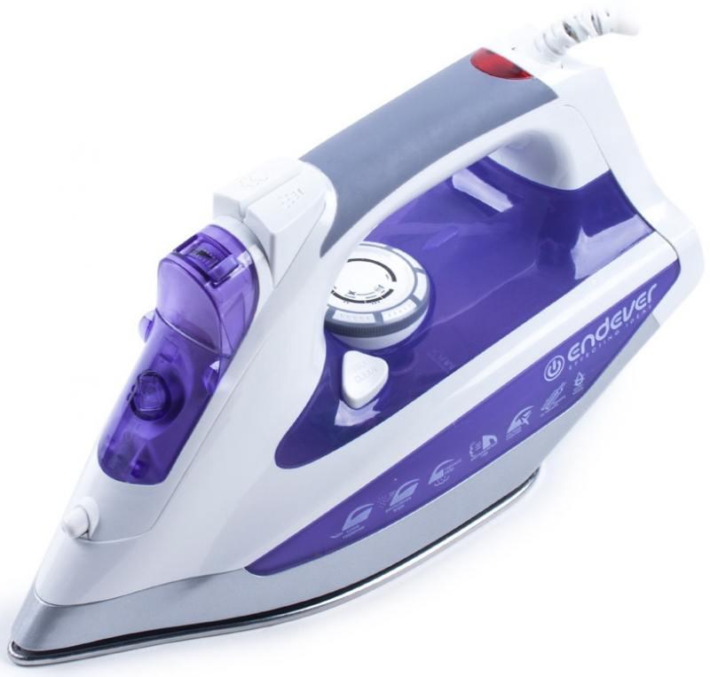 Утюг ENDEVER SkySteam-715 2600Вт фиолетовый утюг endever skysteam 734 белый фиолетовый