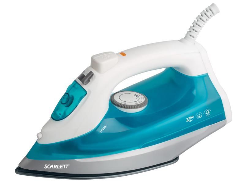 Утюг Scarlett SC-SI30P04 2200Вт бело-голубой